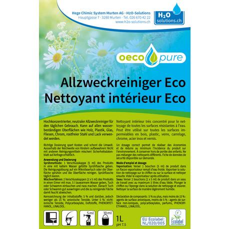 Nettoyant intérieur Eco